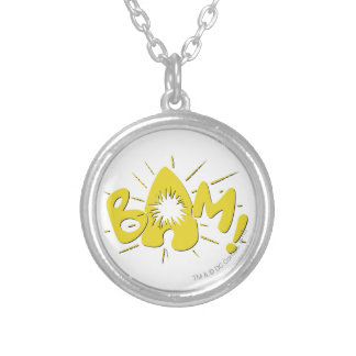 BAM! SILVER PLATED NECKLACE