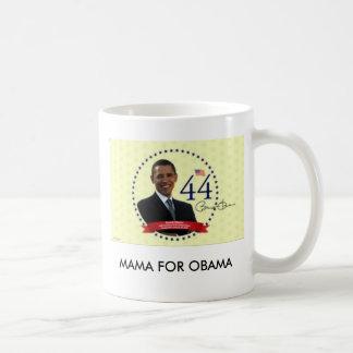 bama3, MAMA FOR OBAMA Basic White Mug