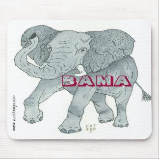 """""""BAMA ELEPHANT"""" Mousepad"""