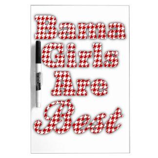 Bama Girls Are Best Dry Erase Whiteboards