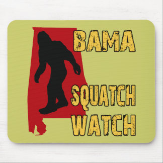 Bama Squatch Watch Mouse Pad