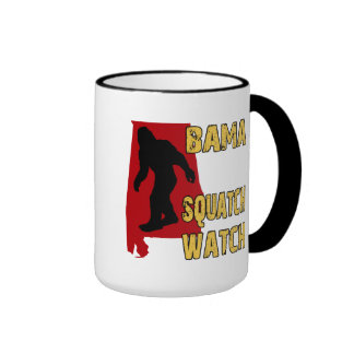 Bama Squatch Watch Mugs