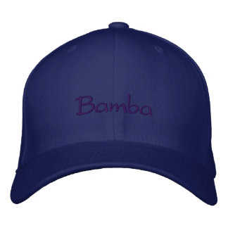 Bamba Embroidered Hat