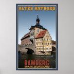 Bamberg - Altes Rathaus Portrait Poster