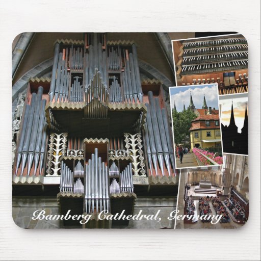Bamberg Cathedral organ mousepad