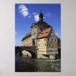 Bamberg, Germany's Rathaus Poster
