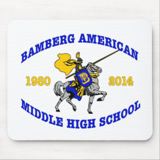 Bamberg Middle High School 1980-2014 Mouse Pad
