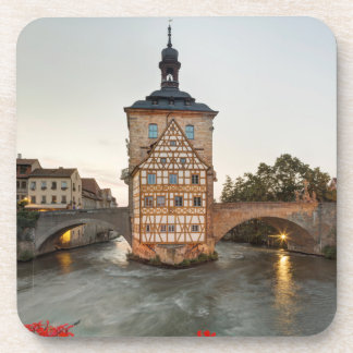 Bamberg Old Town Hall and Obere Bridge Coaster