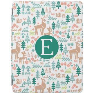 Bambi and Woodland Friends Pattern | Monogram iPad Cover