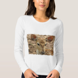 Bambi Deer Ladies Long Sleeve T-Shirt
