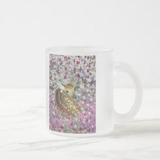 Bambina the Fawn in Flowers II Mug