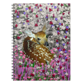 Bambina the Fawn in Flowers II Note Books