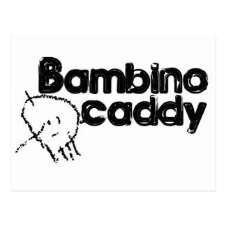 Bambino Caddy Postcard
