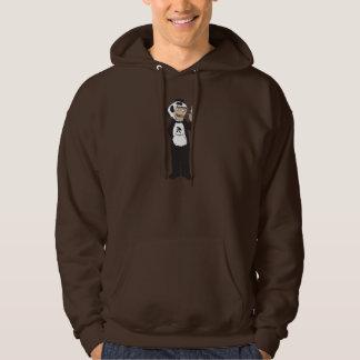 Bamboarderco Panda tokin hood brown Hoodie
