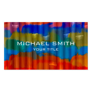 Bamboo Acrylic Painting Pack Of Standard Business Cards