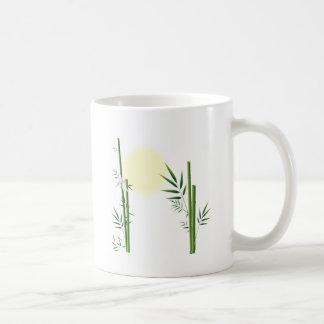 Bamboo and Dragonfly Coffee Mug