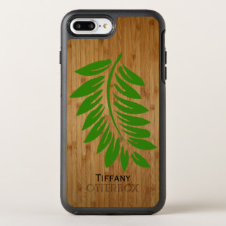 Bamboo and Fern Leaf iPhone 7 Plus Otterbox Case