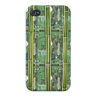 Bamboo and Hard Drives Covers For iPhone 4