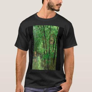 Bamboo And Lanterns T-Shirt