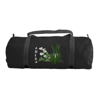 Bamboo and Lily Aries Gym Duffel Bag