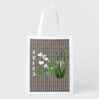 Bamboo and Lily Aries Reusable Grocery Bag