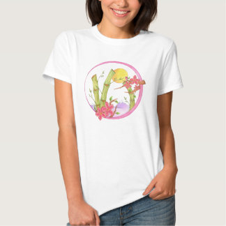 Bamboo and Purple Mountains T Shirts