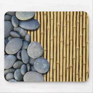 Bamboo and Stones Mouse Mat
