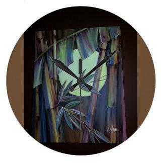 Bamboo Art Clock