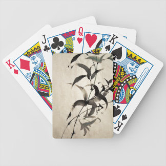 Bamboo Bicycle Playing Cards