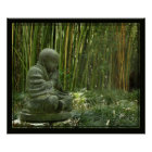 Bamboo Buddha Print -24x20 -other sizes available