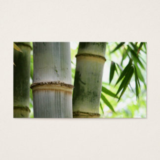 Bamboo Business Card