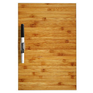 Bamboo Butcher Block Dry Erase Boards