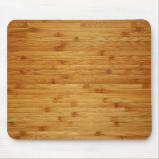 Bamboo Butcher Block Mouse Mat