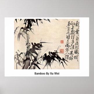 Bamboo By Xu Wei Posters