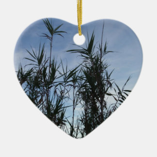 Bamboo. Christmas Ornament