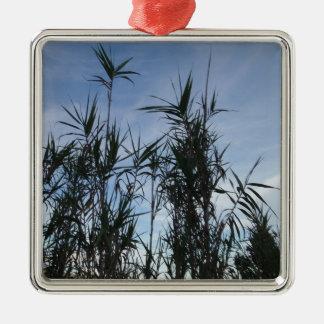 Bamboo. Christmas Ornament