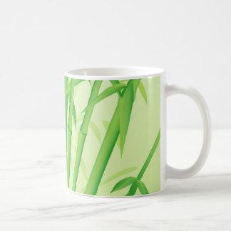 Bamboo design coffee mug