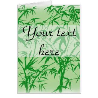 Bamboo Dreams Card