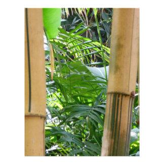 Bamboo Flyer Design