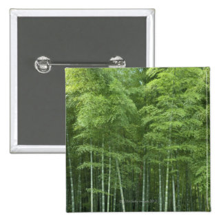 Bamboo Forest 15 Cm Square Badge