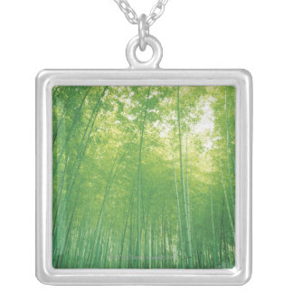 Bamboo Forest 2 Silver Plated Necklace