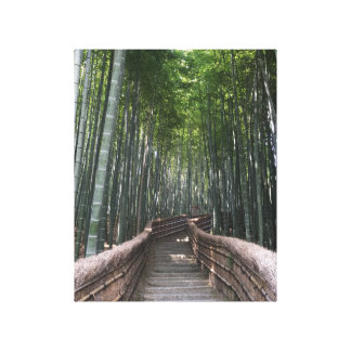 Bamboo forest Canvas Kyoto Japan