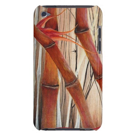Bamboo Forest Barely There iPod Cases
