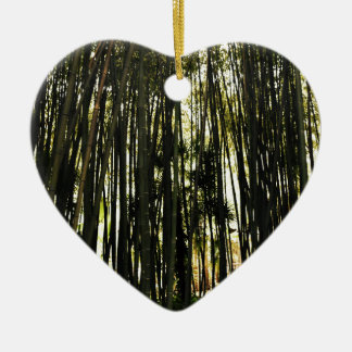 Bamboo Forest Christmas Ornament