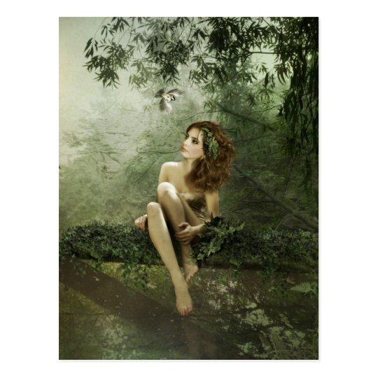 Bamboo Forest Idyll Postcard