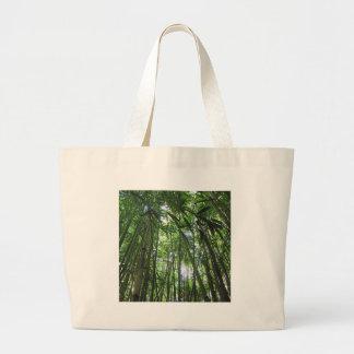 Bamboo Forest Maui Hawaii Tropical Jungle Trees Canvas Bag