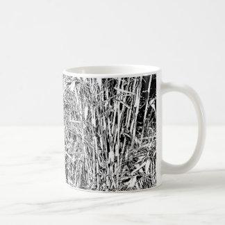 Bamboo Forest Monochrome Design Mug