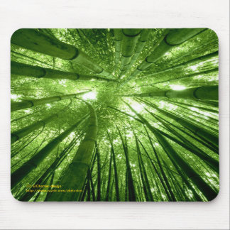 Bamboo forest mousepad