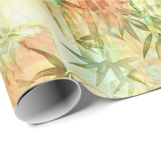 Bamboo Forest Painting Wrapping Paper