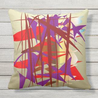 Bamboo Garden Outdoor Cushion